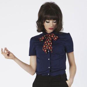 mod girl bow tie