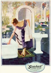 bathtub 1920s