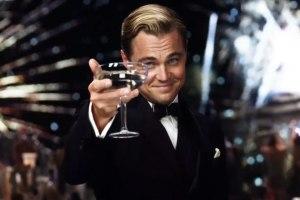gatsby champagne glass fireworks
